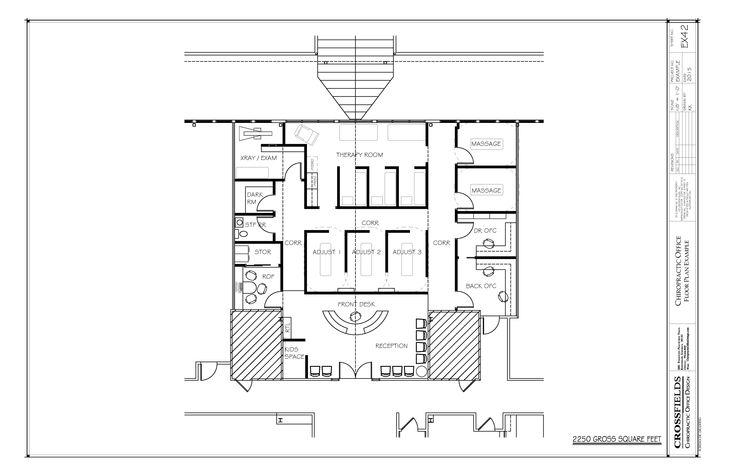 Mejores 132 imágenes de Chiropractic Floor Plans en