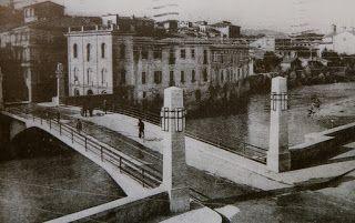 CREA et VIVI: UNA CARTOLINA DAL PASSATO Rieti - Nuovo Ponte Romano 1939 Nel 1939 fu costruita una nuova struttura in cemento armato, che venne distrutto durante la II guerra mondiale e venne ricostruito nel dopoguerra.