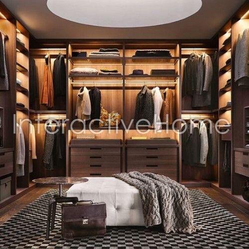 Автоматическая подсветка гардеробной