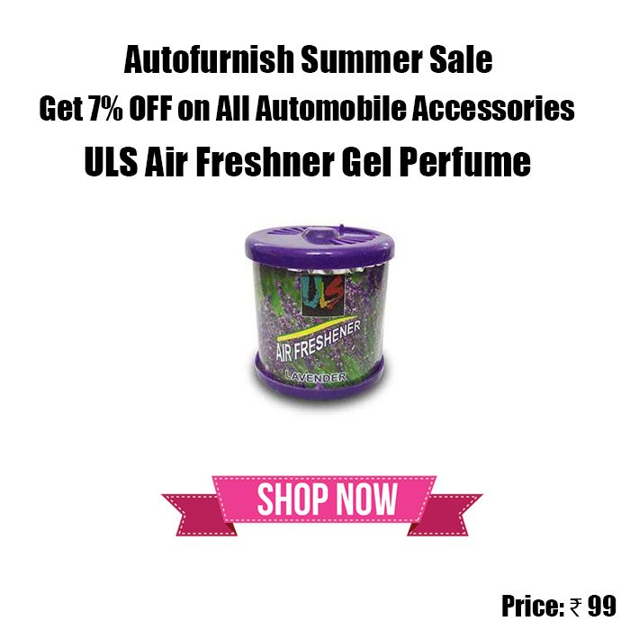 #ULS #Air #Freshner Gel #Car #Perfume for Car Home Office Use Discount Code - AFSS7 Shop Now http://bit.ly/1TvgXef