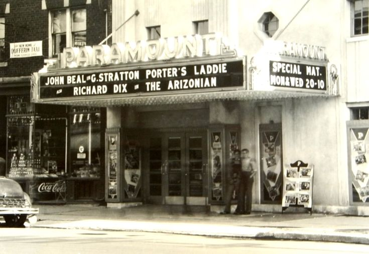 photos of old movie houses | Toronto's old movie houses—the Paramount Theatre at 1069 St. Clair ...