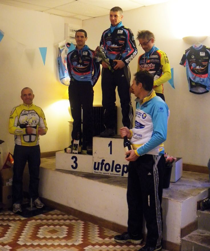 Les gagnants du cyclo cross de Sarrance