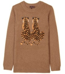 // mulberry tiger sweater: Fashion Tigers, Thread, Lovely Wearables, Mulberry Tiger
