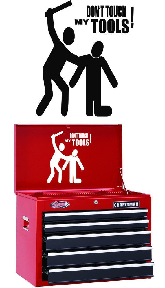 "Craftsman Tools USA Decal Sticker 8.5/"" X 2.25/"" Toolbox Laptop Vehicle Window"