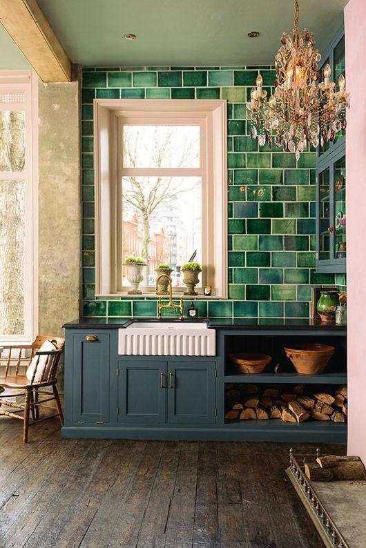 inspiring interior of devol kitchen's showroom. / sfgirlbybay