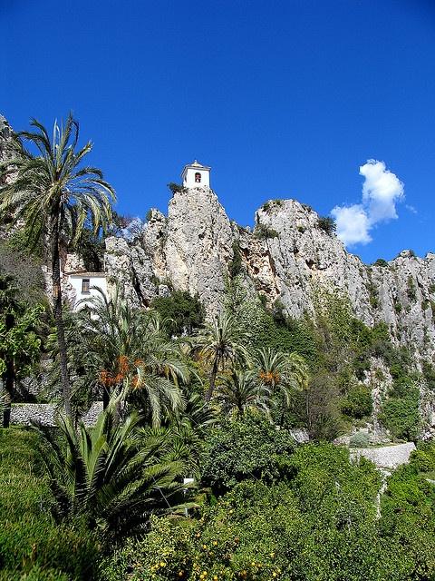 El Castell de Guadalest,Spain