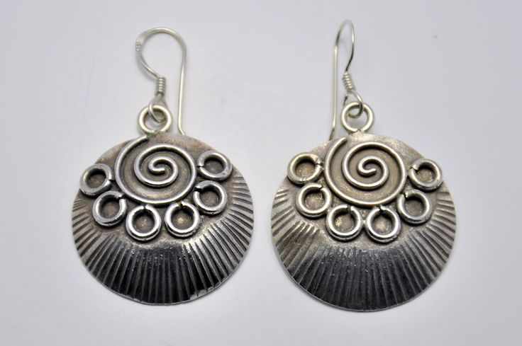 Earrings silver from Laos €22