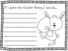 Easter Writing Prompts (K-2) - 15 fun writing prompts to celebrate Easter. Create a bulletin board display or a class book.