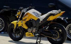modifikasi motor byson Kuning