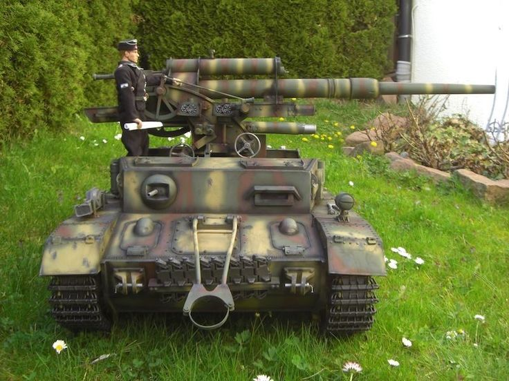 panzer iv mit 8 8 cm flakaufbau in 1 6 ebay modellbau. Black Bedroom Furniture Sets. Home Design Ideas