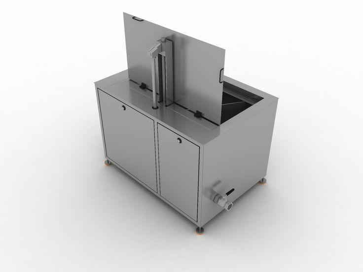 GTS-94 940 Litros 7500 Vatios de Ultrasonidos 12000 Vatios de Calentamiento Medidas Internas: 1500 x 900 x800 Medidas Útiles: 1480 x 760 x 640 Capacidad de carga: 700 Kilos