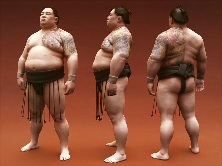 Sumo Wrestler Wallpaper HD Collection