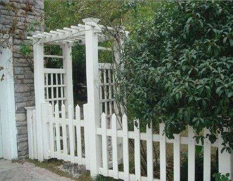 Trinidad S Pvc Fence Panel Wpc Fence Pvc Fence Fence