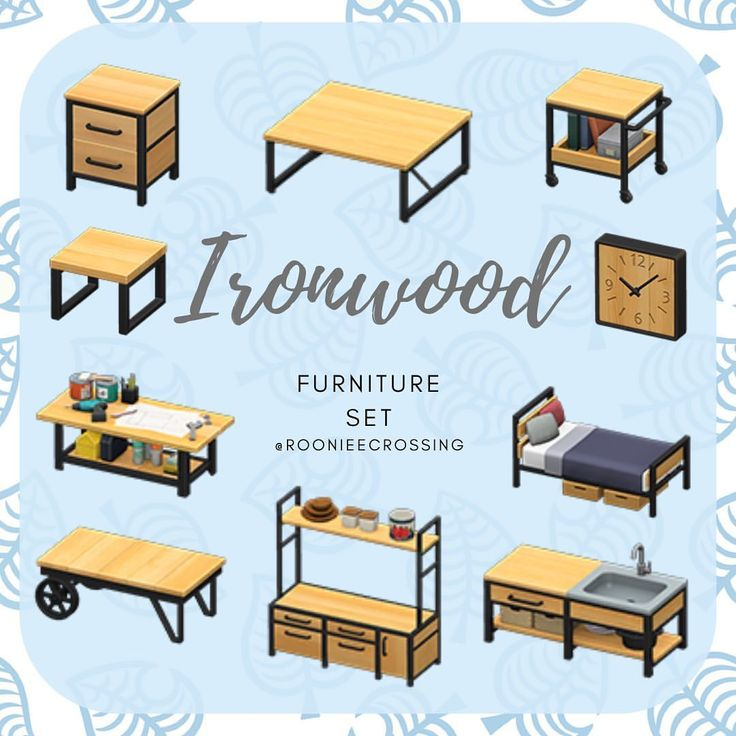 The ironwood furniture set, let others know in the ... on Ironwood Furniture Animal Crossing  id=62042