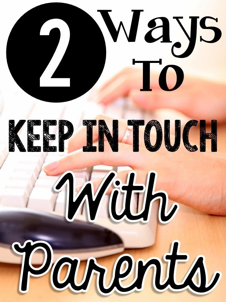 Primary Chalkboard: Keeping In Touch With Parents - 2 Easy Ways!