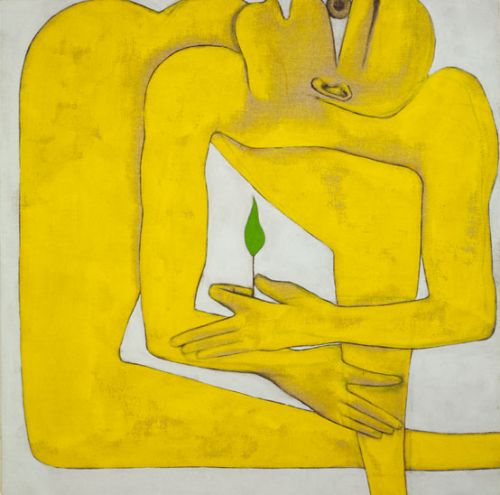 Image result for Francesco Clemente Water and Wine (1981)