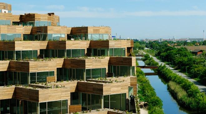 Sustainable residence building in Copenhagen