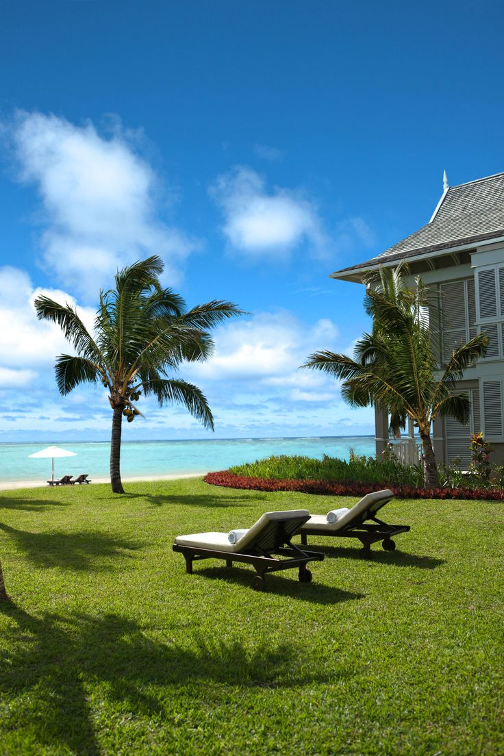"The St. Regis Mauritius Resort. My favorite ""place me here"" photo.  This is as good as it gets."
