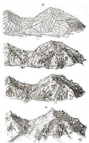 Eugene Emmanuel Viollet-le-Duc, Modifications done to a mountaintop.
