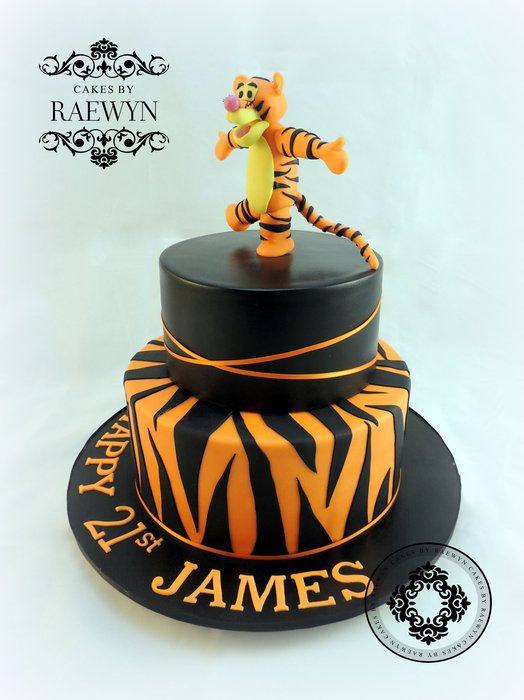My First Tigger Cake  Cakes by Raewyn  https://www.facebook.com/pages/CakesbyRaewyn/205607579476102