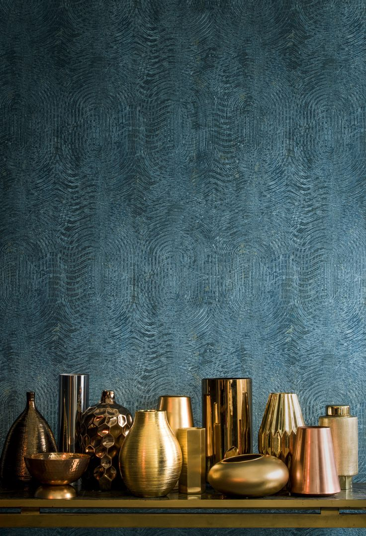 Casamance wallpaper Copper spring-summer 2016