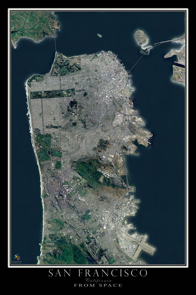 106 best stellar cartography atlas images on pinterest maps san francisco california satellite poster map gumiabroncs Gallery