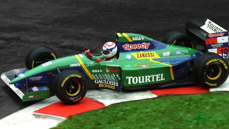 Philippe-Alliot-1994-Belgian-GP