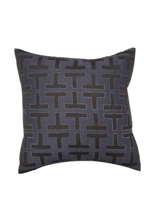 T Pillow, Charcoal Grey, 18