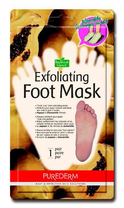 Purederm маска-пилинг фруктовой кислоты(носочки) для стоп или салфетки для снятия жирного блеска лица-50% - Cherry.lv