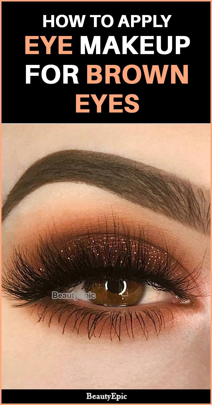 Eye Make-up For Brown Eyes – Suggestions and Methods