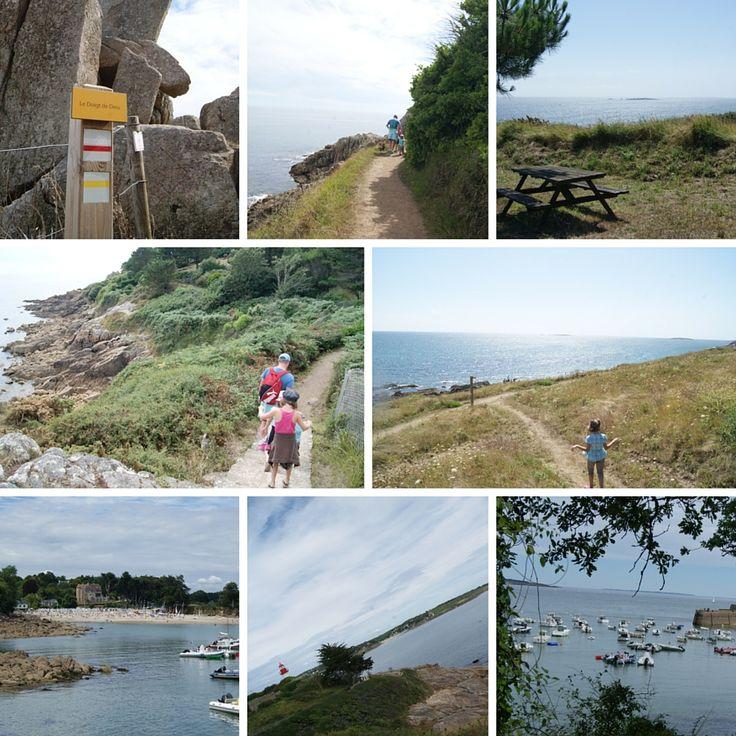 GR34, le chemin de grande randonnée avec des enfants - Bretagne Finistere, depuis Port Manech