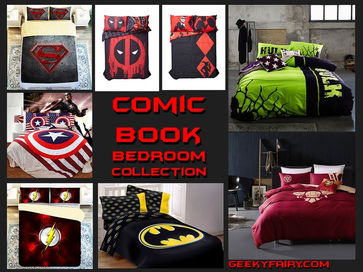 1000 ideas about superman bed on pinterest cheap bed for Comic book bedroom ideas