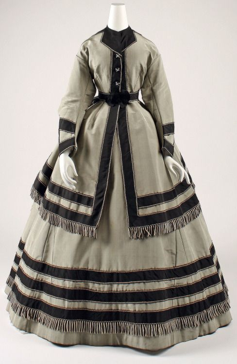 Half-Mourning Wedding Dress 1868 The Metropolitan Museum of Art