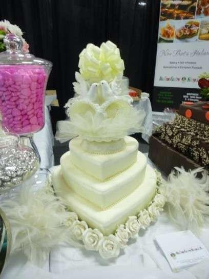 Tartas de boda: Pasteles en forma de corazón  (Foto 28/40)   Ellahoy