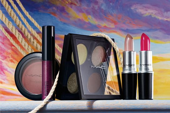 This Is How MAC Does A Romance Novel #refinery29 http://www.refinery29.com/mac-novel-romance-makeup-collection-fall-2014#slide28 Lipsticks and eye palettes, ahoy!