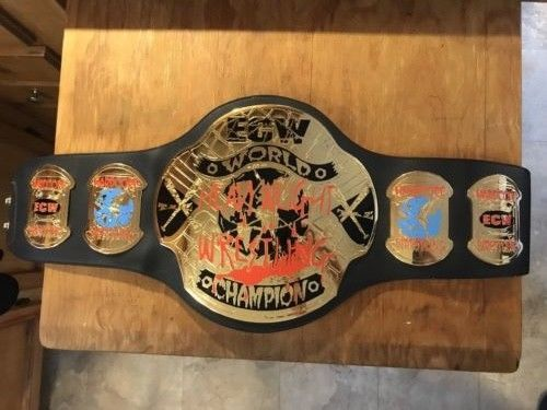ECW Taz World Heavyweight Championship Belt (Original - Not WWE) TNA WCW