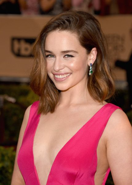 Emilia Clarke Photos - Actress Emilia Clarke attends The 22nd Annual Screen Actors Guild Awards at The Shrine Auditorium on January 30, 2016 in Los Angeles, California. 25650_015 - The 22nd Annual Screen Actors Guild Awards - Arrivals