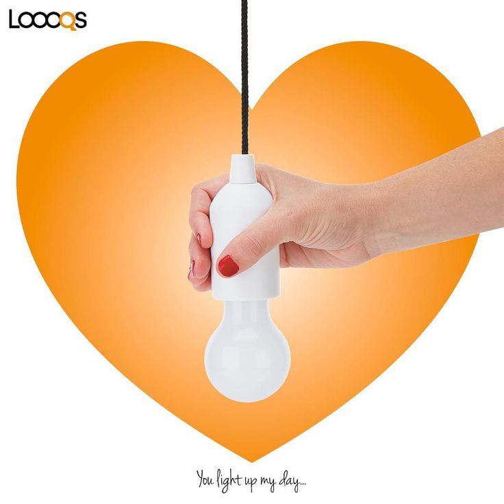 You light up my day with this pull lamp. www.geminioctopus.com