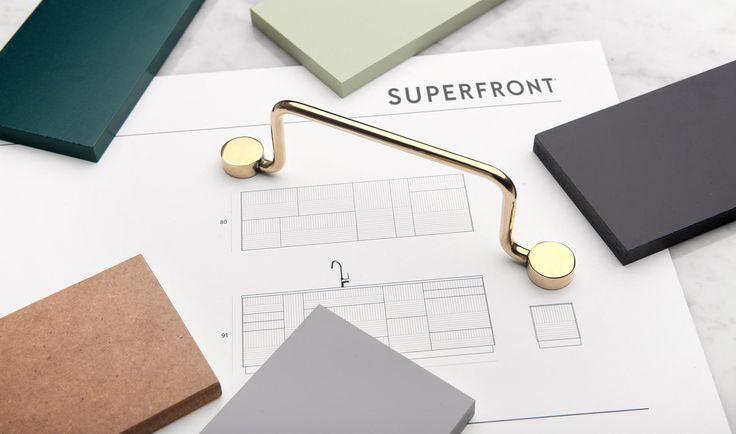 Köksinredning till Ikeas Metod-stomme. Gör Ikeaköket unikt med köksluckor och lådfronter. | SUPERFRONT