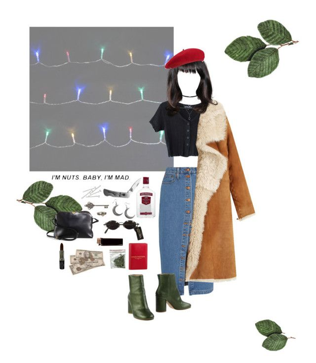 black rose by marshakaethlyn on Polyvore featuring polyvore, fashion, style, Toast, Madewell, Maison Margiela, The Row, Cathy Waterman, Jessica Simpson, Jean-Paul Gaultier, Fivestory, BOBBY, Manic Panic NYC, WALL, Actual Pain, Prada and clothing