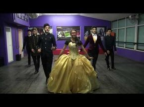 "Dangerous XV Años - ""Ensayando Vals"" More than this - YouTube"