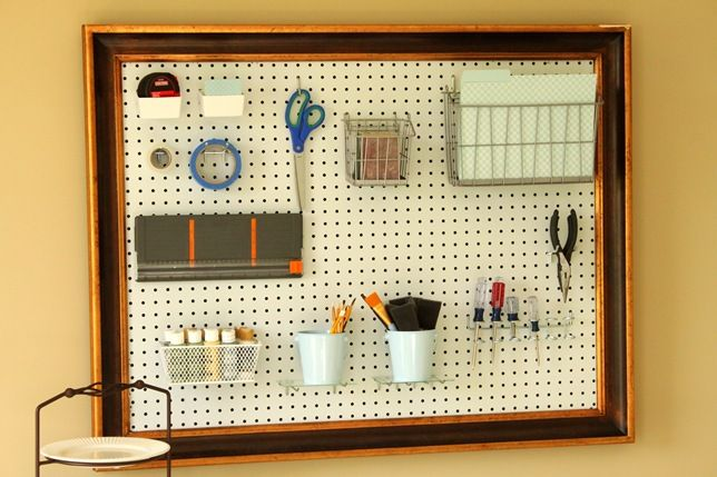 I Put A Peg Board In My Dorm Room Last Year Not Only Was