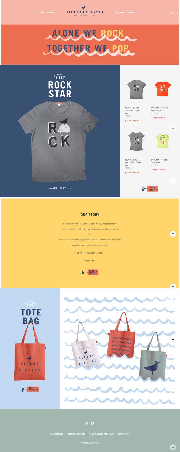 Lovely & playful site powered by Shopkeeper WP Theme: sirensandpirates.com/wordpress/ #webdesign #wordpress #design #templates #themes #wordpressthemes #minimalism #typography http://themeforest.net/item/shopkeeper-responsive-wordpress-theme/9553045?&utm_source=pinterest.com&utm_medium=social&utm_content=sirens-pirates&utm_campaign=showcase
