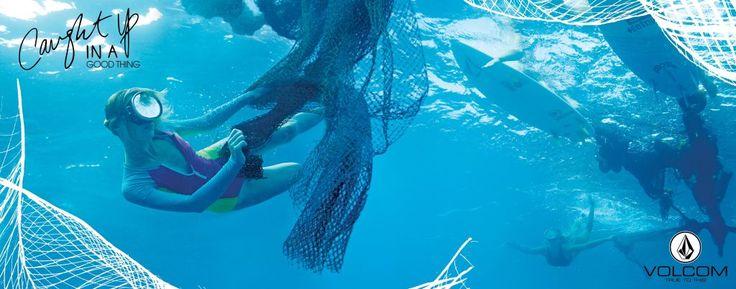 Volcom's Sustainability Initiative Turns Fishing Nets into Bikinis