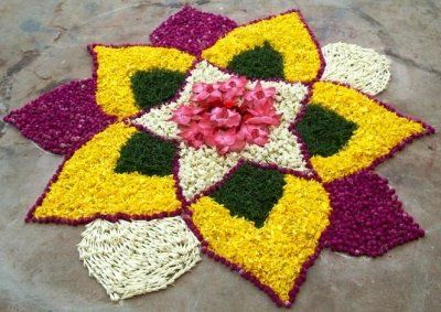 25 Easy Rangoli Designs