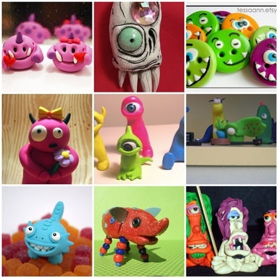 Cute Monster Craft Ideas Easy To Make