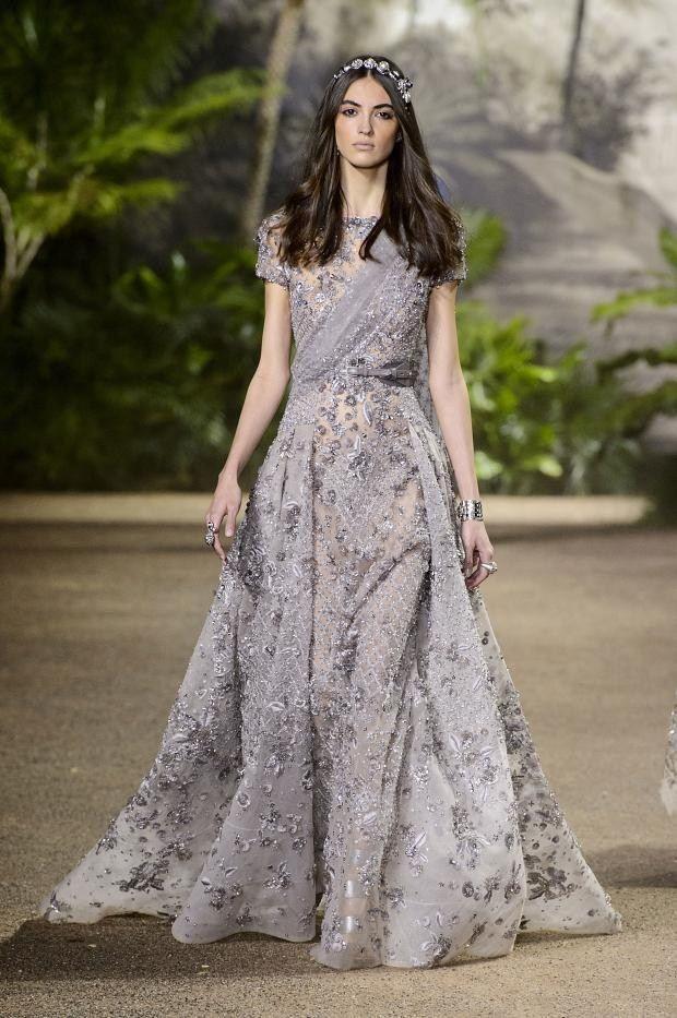 Elie Saab Haute Couture Spring 2016.
