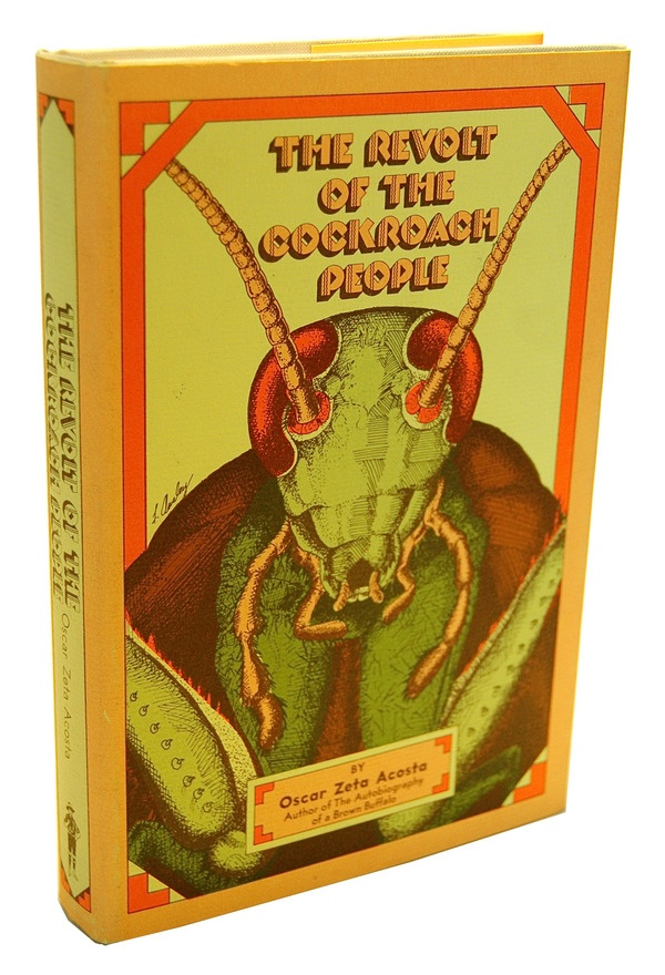 """Revolt of the Cockroach People By Oscar """"Dr Gonzo"""" Zeta Acosta. Grandpa helped a lot of underserved and is mentioned in this book. Strange but true."""