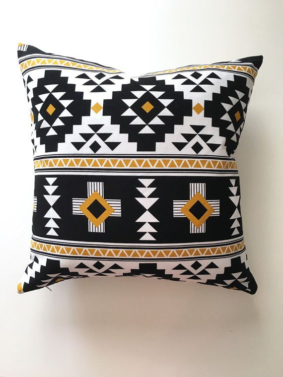Aztec Navajo Tribal Pattern Throw Pillow Cover