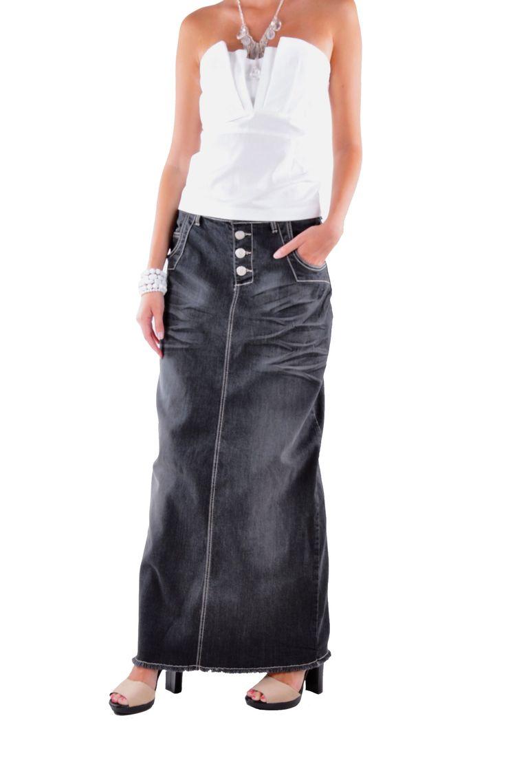 style j charcoal grace denim skirt skirts